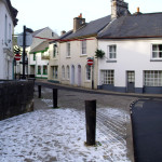 Fore Street in winter